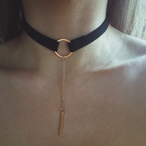 Jewelry - Minimalist Lariat Choker Necklace